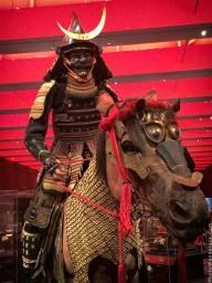 Самурай в доспехах Татидо тосэй-гусоку на лошади, XVII век