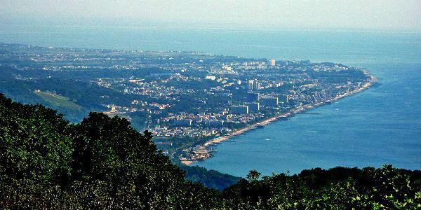 Адлер как центр Черноморского туризма