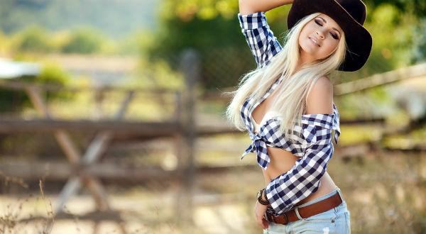 Женская ковбойская одежда