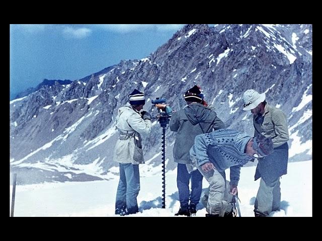 Тянь-Шань ледник Туюксу пик Погребецкого 1986г