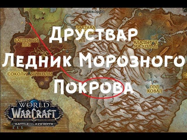 Ледник Морозного Покрова Друствар - Исследования ВОВ БФА