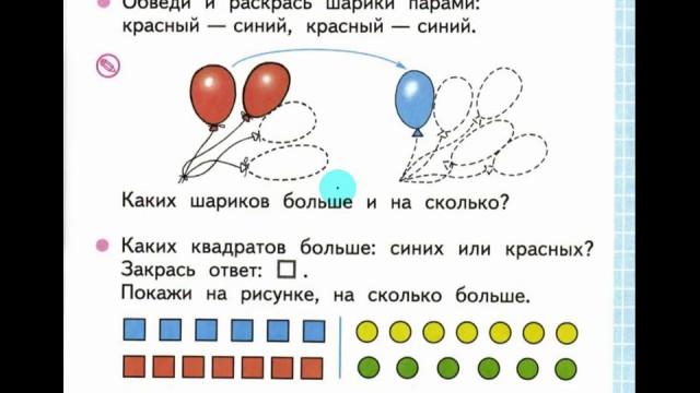 Математика 1 класс по рабочей тетради Моро, Волкова стр 7