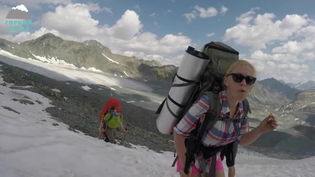 Поход по Горному Алтаю / 4 день / Ледник Иолдо - перевалы Иолдо Западный и Иолдо