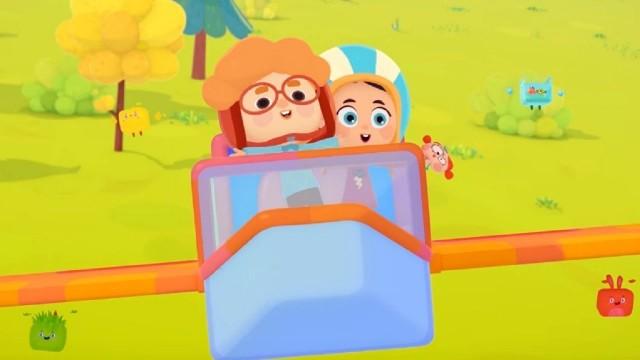 Четверо в кубе - День рождения - развивающий мультфильм для детей–окружающий мир