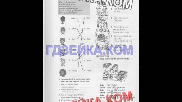 ГДЗ рабочая тетрадь английский язык 5 класс Комарова, Ларионова:Стр 5