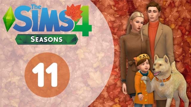 The Sims 4 Времена Года. ツ Домашние заботы. - #11