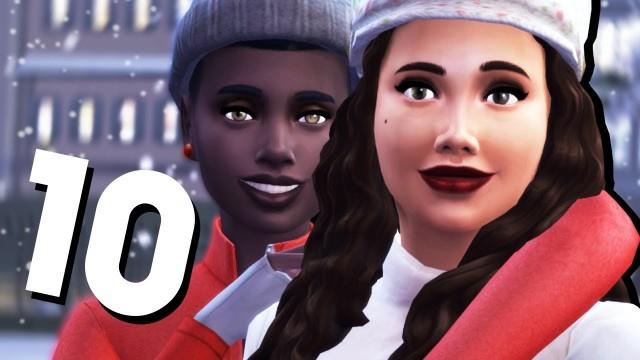 The Sims 4 Времена года #10 ДЕВИЧЬЯ ЛЮБОВЬ ❤