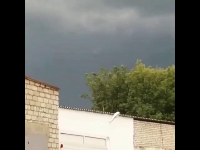 Интересное явление в небе Петропавловска
