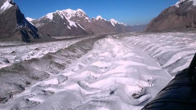 Ледник Южный Иныльчек август 2015