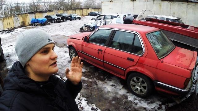 BMW E30 325iX Нашел брошенную машину !