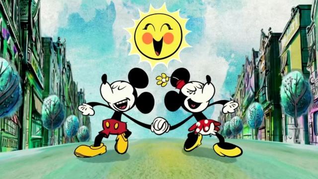 Микки Маус - Очаровательная пара