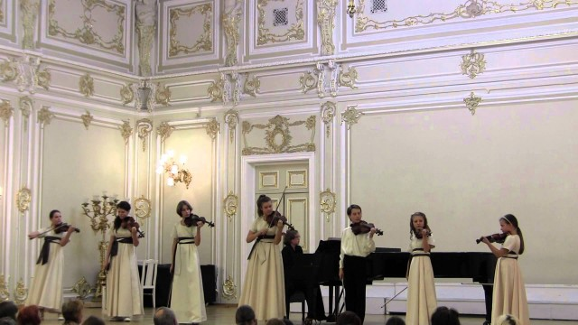 "А.Вивальди ""Зима"" из цикла ""Времена года"" часть 1. A.Vivaldi ""Winter"""