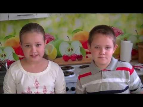 ВОЛШЕБНЫЕ КАПЕЛЬКИ (опыт для урока)Ульяна и Мирослав Ломака