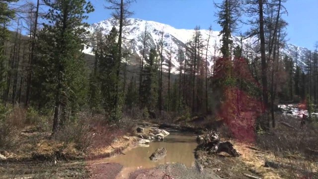 Дорога на ледник Ак-Тру (Алтай май 2015) - УАЗ 469