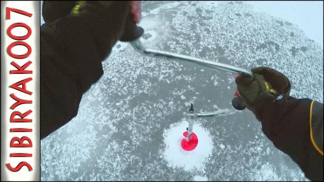 На ПЕРВЫЙ ЛЕД, где осенью Клевало! .. Зимняя рыбалка на балансир