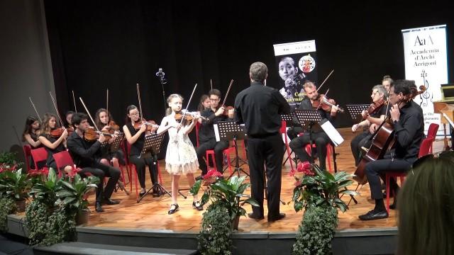 """А. Вивальди, Зима из цикла """"Времена года"""", исполняет Стефания Поспехина"""