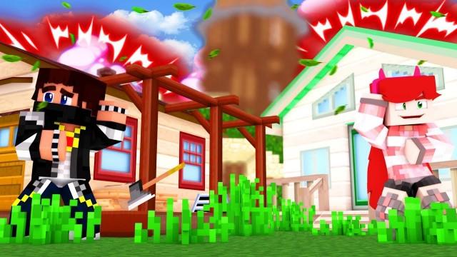 Чей ДОМ КРУЧЕ? Вики Картер или Мистика? #33 Холостяк - Minecraft / Майнкрафт Выживание
