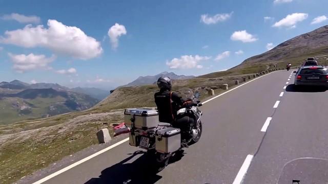 Tbetting NL #16 Вниз.ГРОСГЛОККНЕР - высокогорная дорога в Альпах Grossglokner - hochalpenstrasse
