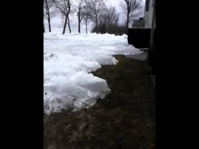 Опасный ледник