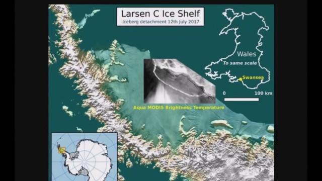 Свершилось! Ледник Ларсен С все же откололся