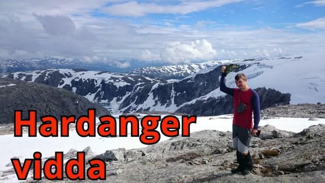 Парк Hardangervidda и ледник Folgefonna 2016