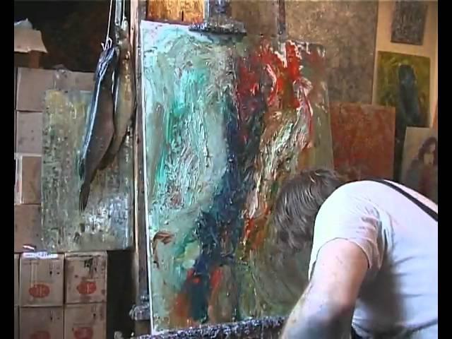 Быстрая живопись  потрясающе интересное видео!!!