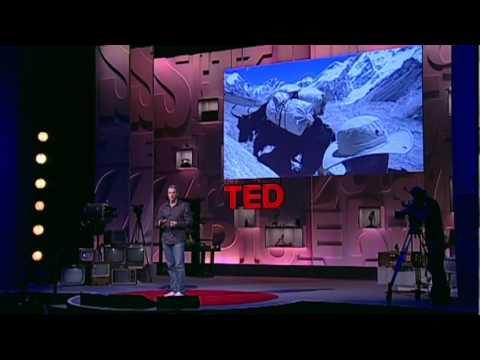 Lewis Pugh's mind-shifting Mt. Everest swim