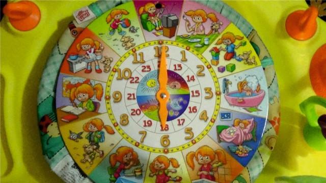 Развивающее пособие для детей с картинками.Учим времена года,месяцы,часы, распорядок дня