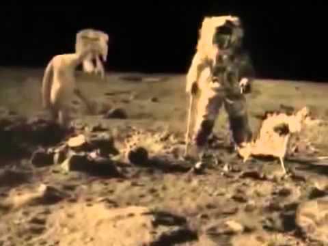 Луна обитаема 100% Невероятное, шокирующеее и интересное видео Удивительные факты