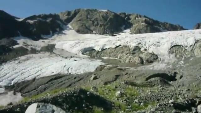 Поход по долине р  Санчаро, Кислые источники, ледник Абгыцха  Часть 2  ледник Абгыцха