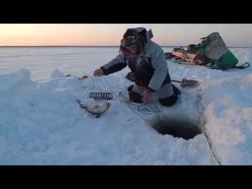 Рыбалка в -37 13.12.2017