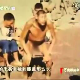 Человеческий гибрид, найденый В Китае Интересное, страшное и невероятное видео, явление