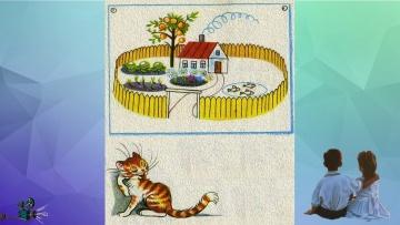 КАПРИЗНАЯ КОШКА В. Г. Сутеев сказка, мультик, слушать, смотреть/NAUGHTY CAT