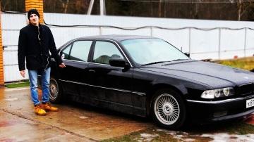 ШКОЛЬНИК купил BMW V12 750 E38 за 300к / ТРАТЫ в особо крупном размере